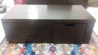 Coffee table with two drawer & extendable unit