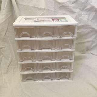 🚚 AR015 AR-015 彩集15格收納盒 /桌上櫃 文具盒 置物盒 抽屜櫃 抽屜整理