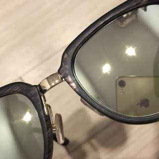 出清特價⚠️韓系 水銀 鏡面 質感 仿木紋 鼻墊 太陽眼鏡 塌鼻子專用 救星
