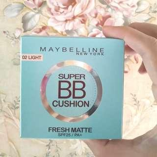 Maybelline Super BB Cushion Fresh Matte SPF25/PA+