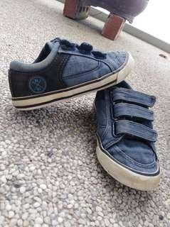 """NEXT"" Jean Material Shoe for Him - size 10 (Free Postage)"
