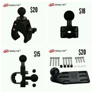SMNU motorcycle phone holder adapters