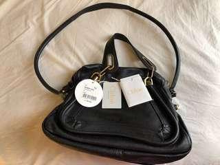 🚚 Chloe Paraty black leather bag