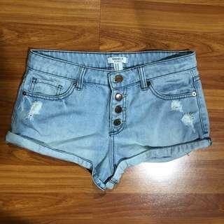 Forever 21 Short Pants Jeans