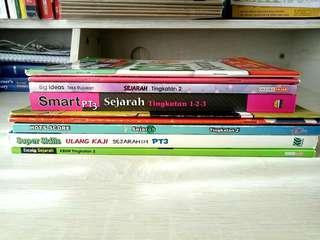 Sejarah Books Form 1 to 3