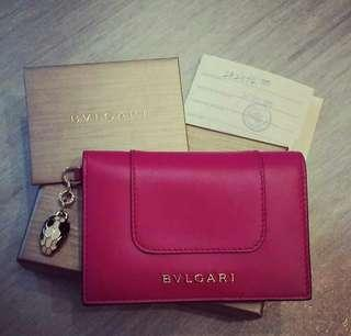 90new_Bvlgari Card Holder