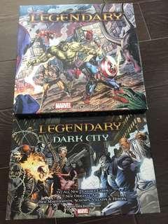 Marvel legendary core set plus dark city expansion