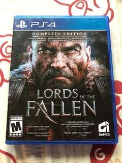 PS4 Game Lords of the Fallen