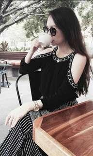 H&M Black Top