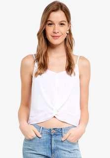 White Riley Cami Top