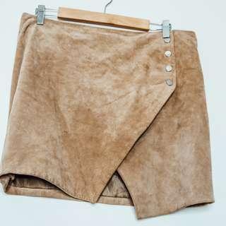 Mango Suede Skirt (size 14)