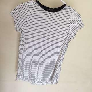 Cotton on basic stripe t shirt