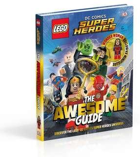 Lego DC Comic Super Heroes The Awesome Guide 樂高DC 漫畫英雄指南