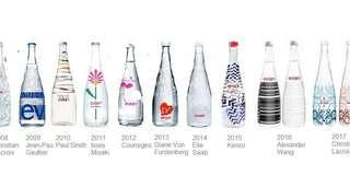 Evian 2008~2018 Collectable Bottles total 13