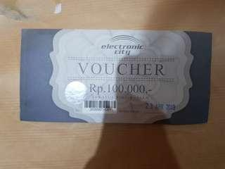 Voucher electronic city