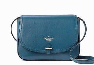 On-hand and ready to ship. BRAND NEW KATE SPADE Kailey Patterson Drive Leather Crossbody Bag