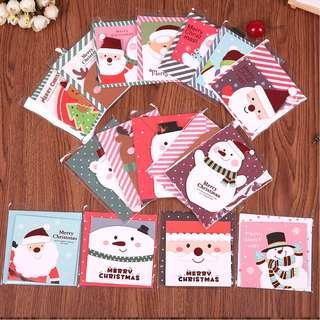 🚚 16 pcs Mini Christmas Cards Set