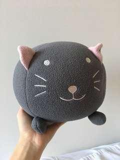 KOREA Squishy round cat stuffed toy