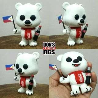 Coca Cola Bear Custom Funko Pop
