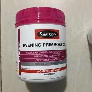 Swisse evening primrose oil 月見草油 200 capsules