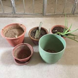 5 Pots
