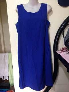Royal Blue Dress M