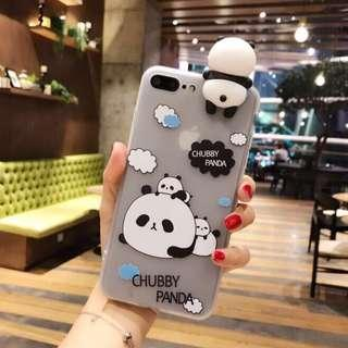 3D Cartoon Panda soft case