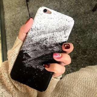 Sand Painting Hard Phone case