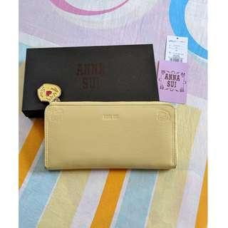 Anna Sui Long Wallet Purse Yellow