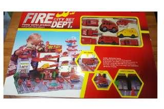 Fire Engine Toys Set (for 3 yrs old & up)