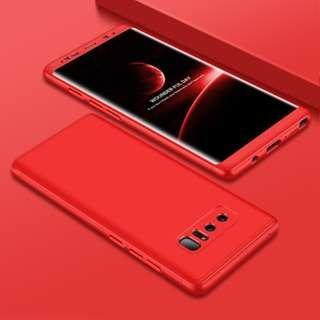 🚚 [Full Red/Full Black] Samsung Note 8 360 Ultra Slim Case