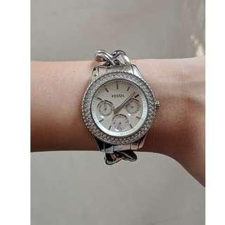 Fossil Stella Crystal Stainless Steel Watch
