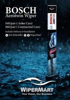 Bosch aerotwin car wiper