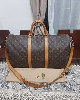 Authentic preloved Louis Vuitton Keepall 50 bandouliere