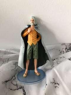 One Piece Silver Rayleigh Figurine
