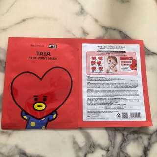 🚚 Mediheal x BT21 TATA Face Point Mask