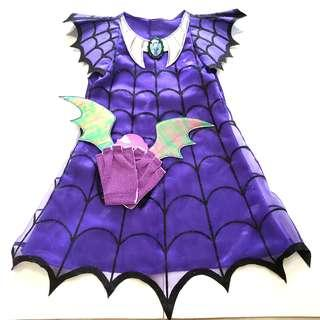 Disney Junior  Vampirina Costume  -Toddler Ghoul Girl 迪士尼卡通吸血鬼娜娜造型套裝