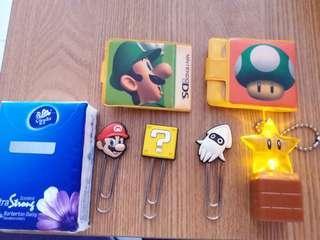 Super Mario  雜物 一堆賣 (夾 掛飾)包平郵