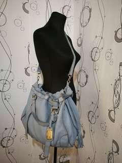 50% OFF!! LE-SANDS Leather Sling Bag