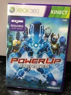 Xbox 360 Kinect Video Game Play Toys Power up Heroes Microsoft Boys
