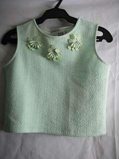Crop top blouse