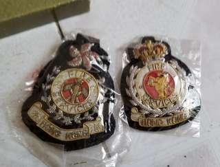 97前後消防處處長級帽章
