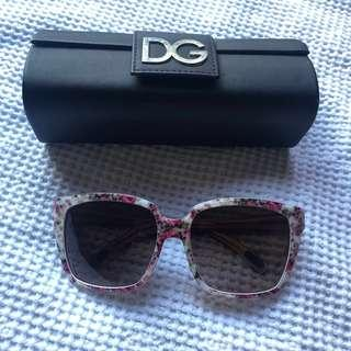 Dolce & Gabbana Floral Sunglasses