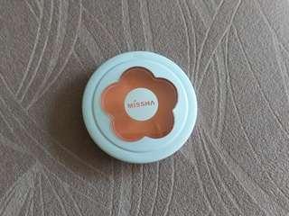 韓國 Korea Missha Eyeshadow orange travel set 短期旅行方便裝 橙色 花花 眼影