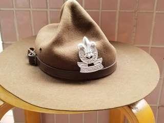 童軍呀爺帽連帽章