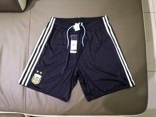 (New) Original Adidas Argentina Climacool Home Shorts 2017