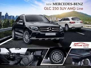 Mercedes-Benz GLC-Class GLC250 AMG Line 4MATIC Luxury Package (A)