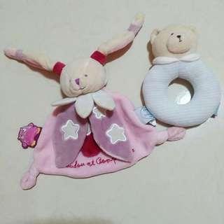 🚚 法國巴黎多多兔安撫娃娃