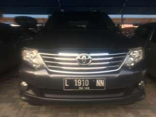 Toyota Fortuner 2.5 G Manual Disel th 2011