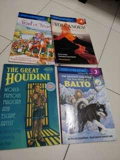 Step into reading children English book